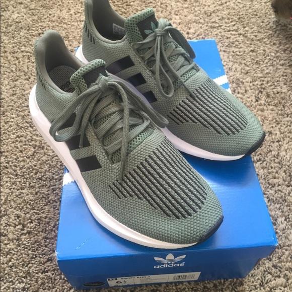 ff0610cb5f08f adidas Shoes | Olive Swift Run | Poshmark